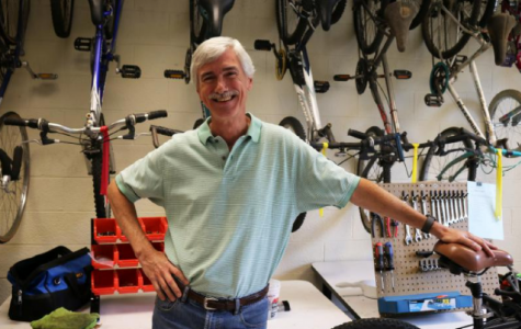 Nathan Watson Is Along For The Ride At The Learn And Earn Bike Shop