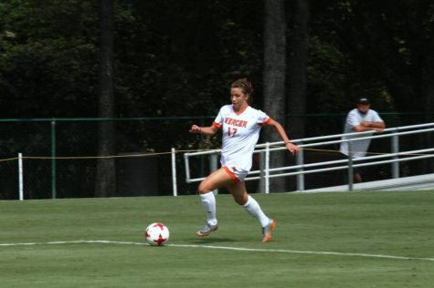 Mercer women's soccer team keeps up its strong play