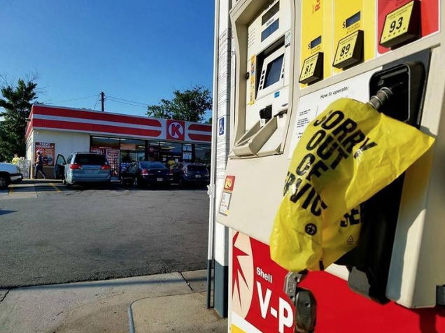 There was a gas shortage at The Circle K at Pierce Avenue and Riverside Drive early Friday, though the manager says they expect another shipment before the end of the day.