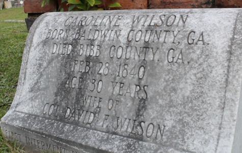 Just Curious: What is the oldest grave in Macon's Rose Hill Cemetery?