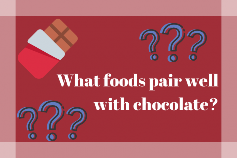 What foods pair well with chocolate?