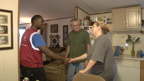 Macon Food Story viewers anonymously donate a new stove, washer, dryer and microwave to Tonya Wright after her story aired during the Macon Food Story special.