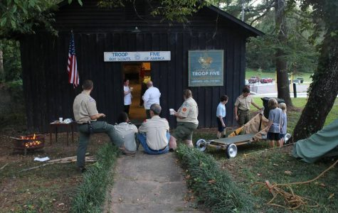A local boy scout group has a new home in a long-abandoned historic building