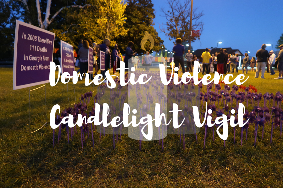 Candlelight vigil honors victims of domestic violence