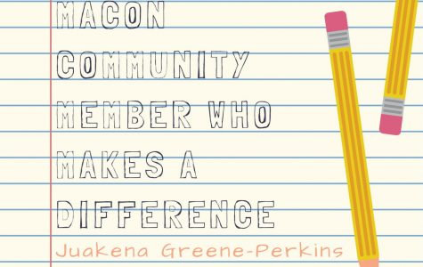 Get to know a Maconite: Juakena Greene-Perkins