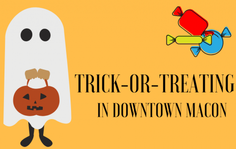 Photo Gallery: Trick-or-treating in downtown Macon