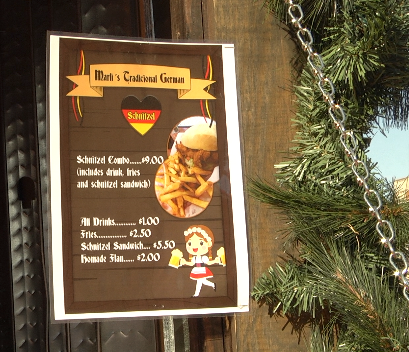 Holiday Foods from the Homeland: The German Christkindl Market