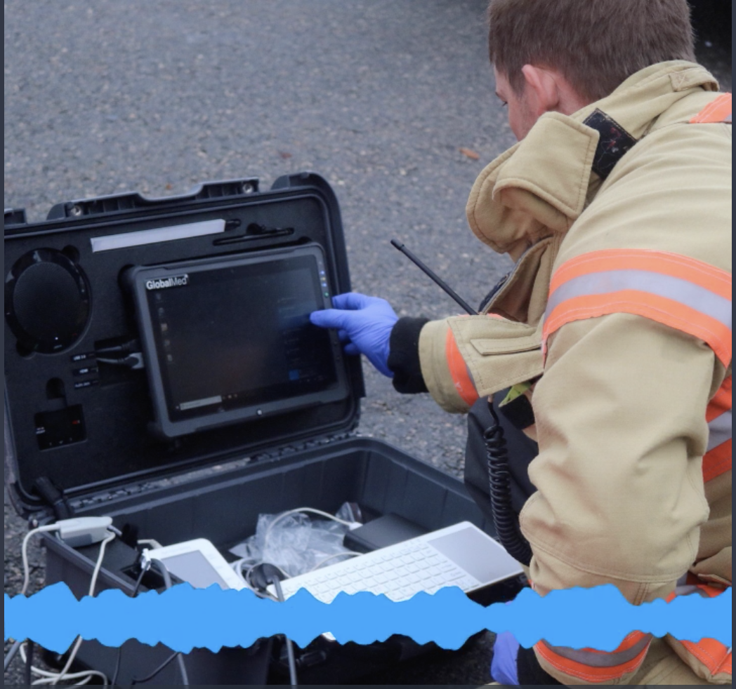 First responders get trained on the latest technologies for disaster preparedness.