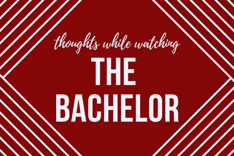 Thoughts we have while watching 'The Bachelor'