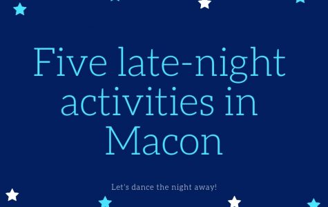 Five places to enjoy late-night activities in Macon