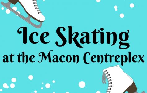 Ice skating at the Macon Centreplex