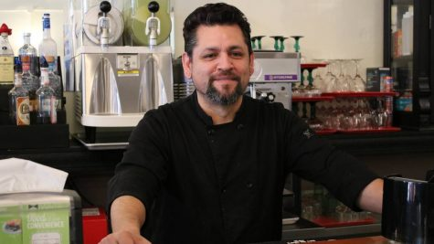 Mario Barragan serves Latin fare at his restaurant, Tzango, on second street in Downtown Macon.