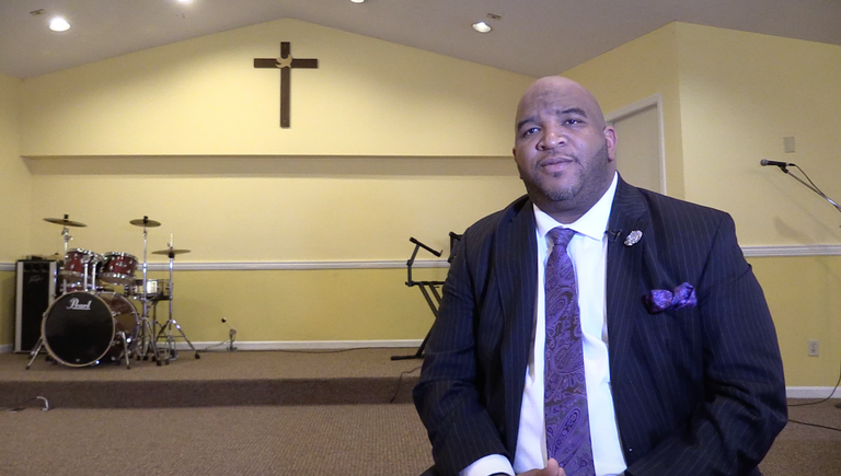 Kingdom Life Pastor Dominique Johnson says food and faith can bring the Macon community together.