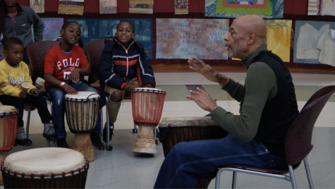 African drum lessons teach kids an important history lesson