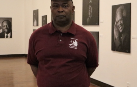Photographer, Johnny Crawford's exhibit, Black Vietnam Veterans Portrait Project is on display at the Tubman Museum in Macon, GA.