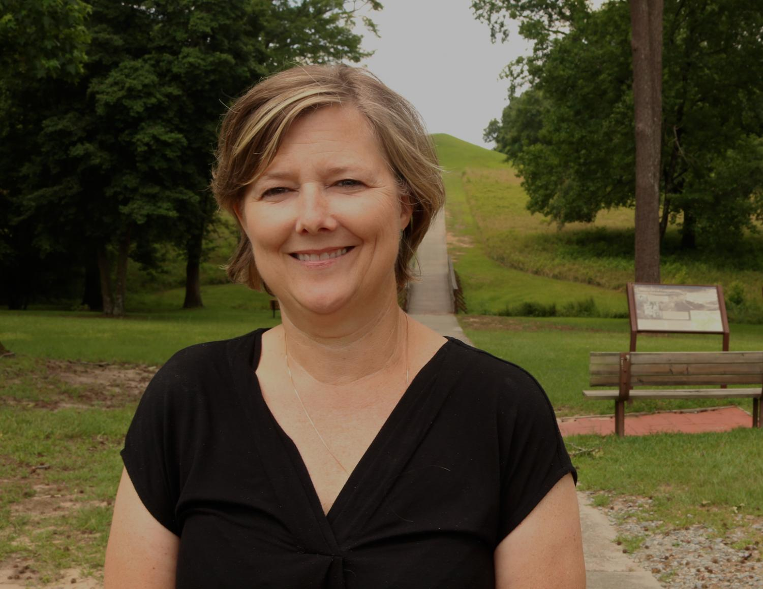 Lisa Lemons Executive Director of Ocmulgee Mounds Association