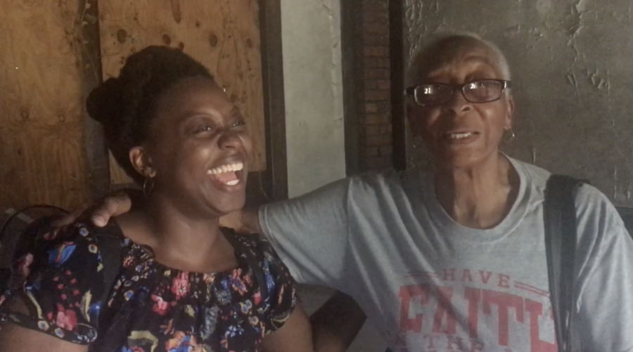 Murdine Height and her granddaughter, Kyla Gwyn, remember their experiences decades apart performing at the Bobby Jones Performing Arts Center.