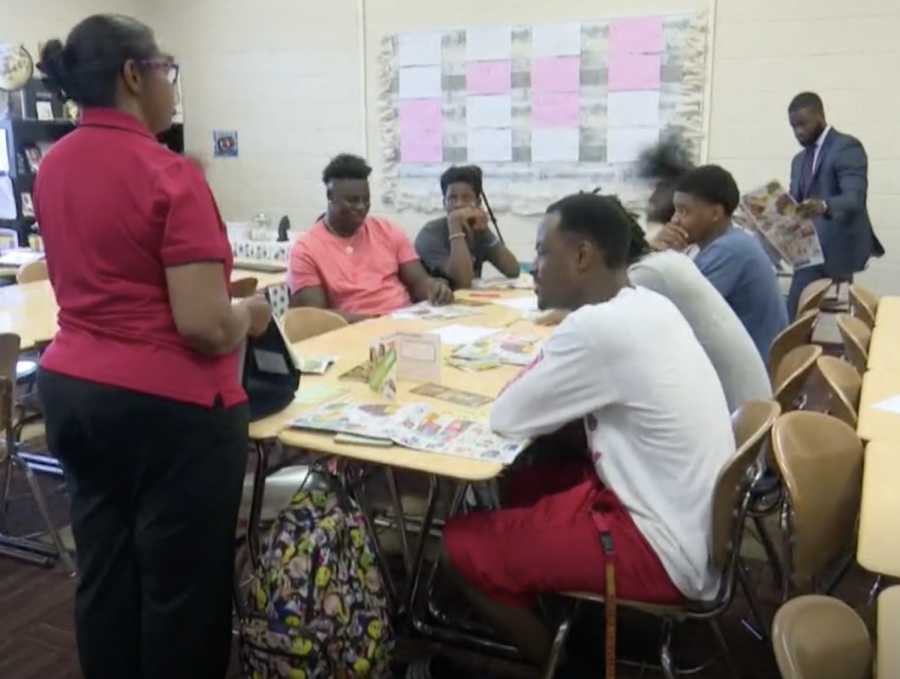 An after school program that ties life lessons together for black boys