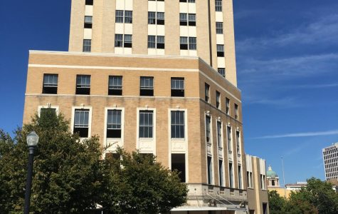 A Marriott Tribute historic boutique hotel featuring a ground floor restaurant and 6th floor rooftop bar is expected to open in March of 2021 at the junction of Cotton Avenue with First and Cherry streets in downtown Macon.
