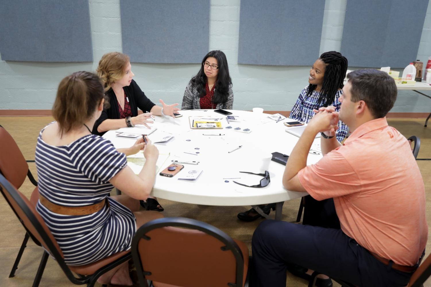 CCJ hosted On the Table in 2018 at the Buck Melton Center.