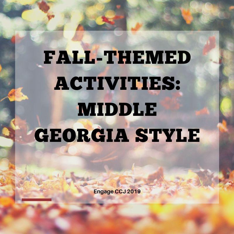 Fall Festivities in the Middle Georgia Area