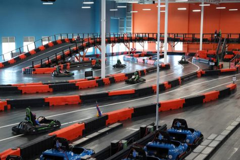 A two-story go-cart track will be built in the old Kmart on Tom Hill Sr. Blvd. as part of the new Urban Air Trampoline and Adventure Park opening in spring of 2020.