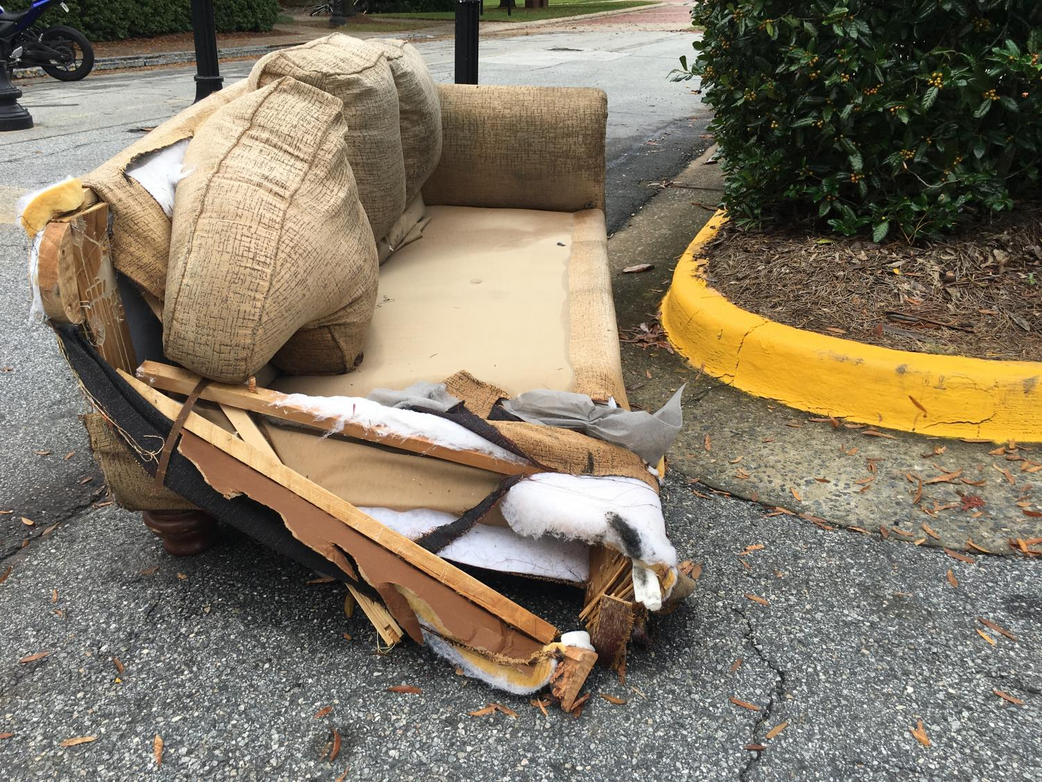 Macon-Bibb County normally charges an extra fee to pick up large items but those charges are being waived during a special Holiday Cleanup from Nov. 4 - Dec. 20.