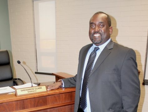 Sheddrick Clark, of Lizella, will serve as the District 2 representative on the Macon Water Authority until after the May 19th election.