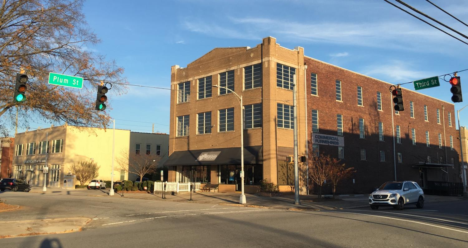 Six luxury condos and an expanded Spa Medical location are planned for the old A.S. Hatcher Marine building at the corner of Third and Plum streets in Downtown Macon.