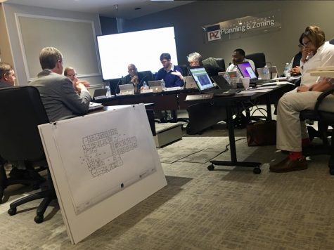The Macon-Bibb County Planning and Zoning Commission considers rezoning a parcel at 5171 Bowman Road for an assisted living, memory care facility.