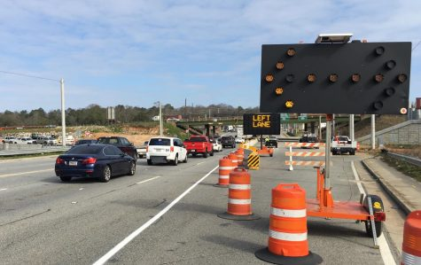 The Interstate 16 West on-ramp from northbound Spring Street  has closed due to construction and drivers must now turn left at the Emery Highway traffic light.