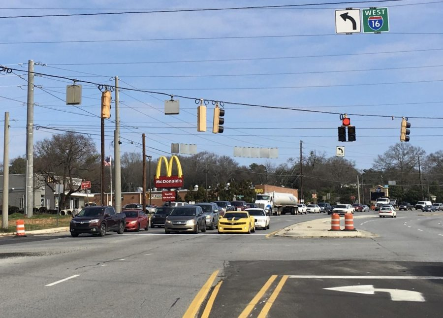 UPDATE:  GDOT alters traffic flow to ease congestion at I-16 ramp