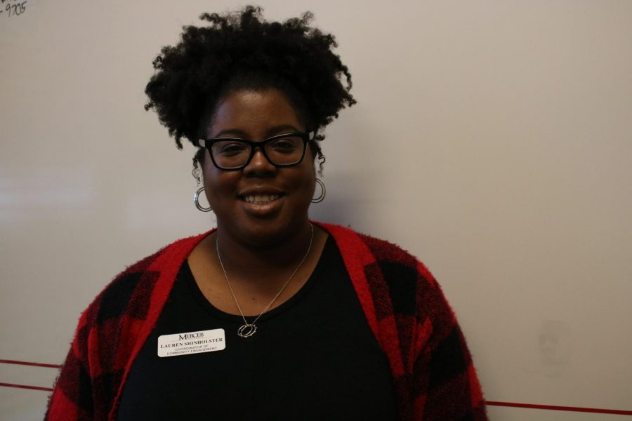 Lauren+Shinholster%2C+Director+for+Community+Engagement+at+Mercer+University.