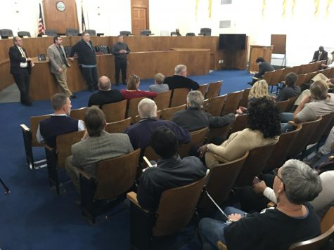 Nearly three dozen building contractors gathered Feb 3 at the Macon-Bibb County Government Center to talk with SAFEbuilt Georgia LLC which has agreed to take over local building permits and inspections if commissioners approve the proposal.