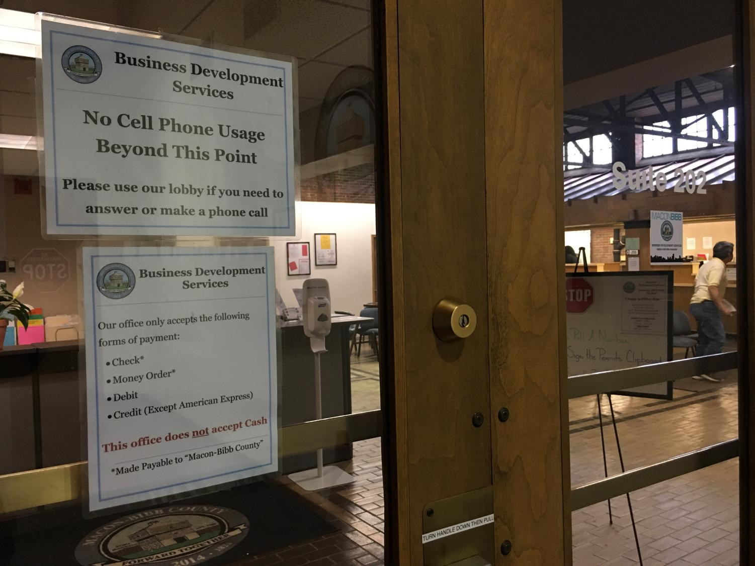 Macon-Bibb County is considering splitting its Business Development Services Department and outsourcing inspections and permits to SAFEbuilt.