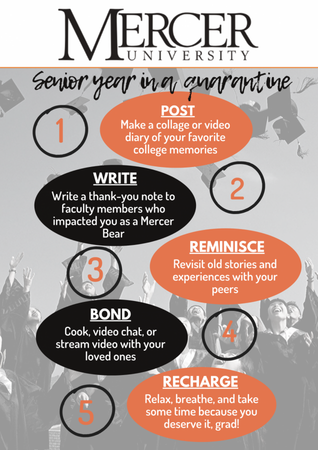 How to save your senior year during social distancing and online learning