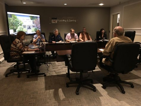 The Macon-Bibb County Planning & Zoning Commission's Design Review Board conducts its last meeting Monday afternoon before the office closes. The office is suspending public gatherings until May.