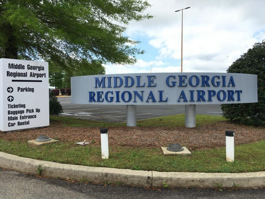 Middle+Georgia+Regional+Airport+will+house+at+least+50+commuter+jets+while+travel+is+curtailed+due+to+concerns+over+the+spread+of+COVID-19.
