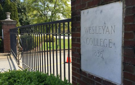 The campus of Wesleyan College remains closed but about 70 students have not been able to get home due to travel restrictions in the COVID-19 pandemic.