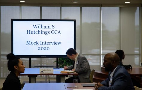 Hutchings Academy hosts mock interviews