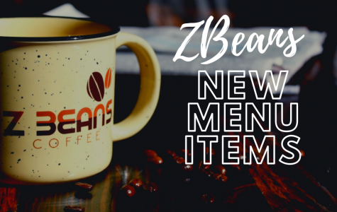 ZBeans New Menu Items