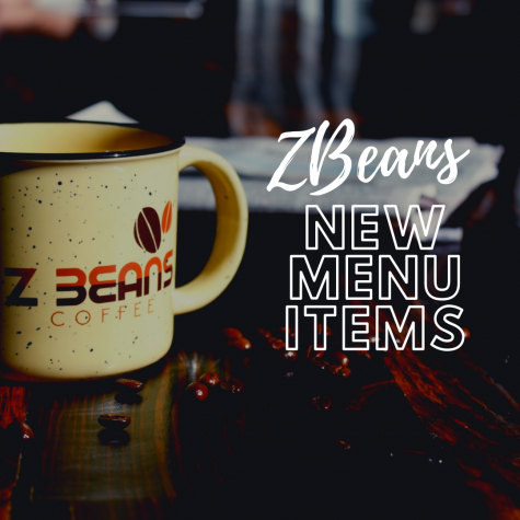 ZBeans New Menu Items