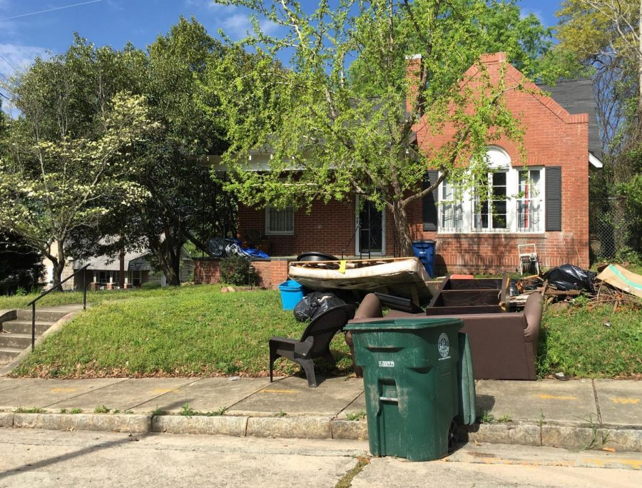 Garbage piling up, some collections on hold as Macon-Bibb stays home