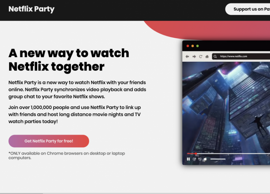 Try Netflix Party to
