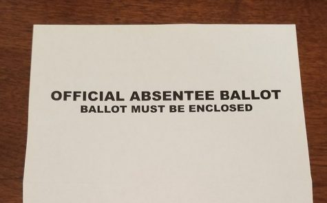Absentee ballots mailed from Georgia