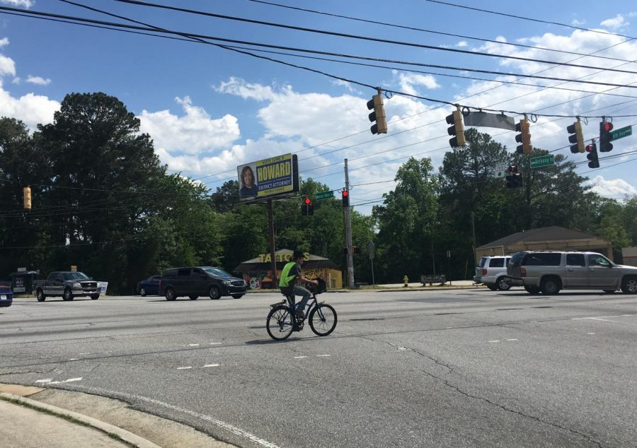 GDOT secured federal funding for Mercer University Drive roundabouts at Anthony and Columbus roads.