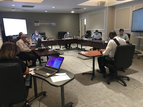 The Macon-Bibb County Planning and Zoning Commission held its first in-person meeting Monday since the COVID-19 outbreak closed their office to the public.