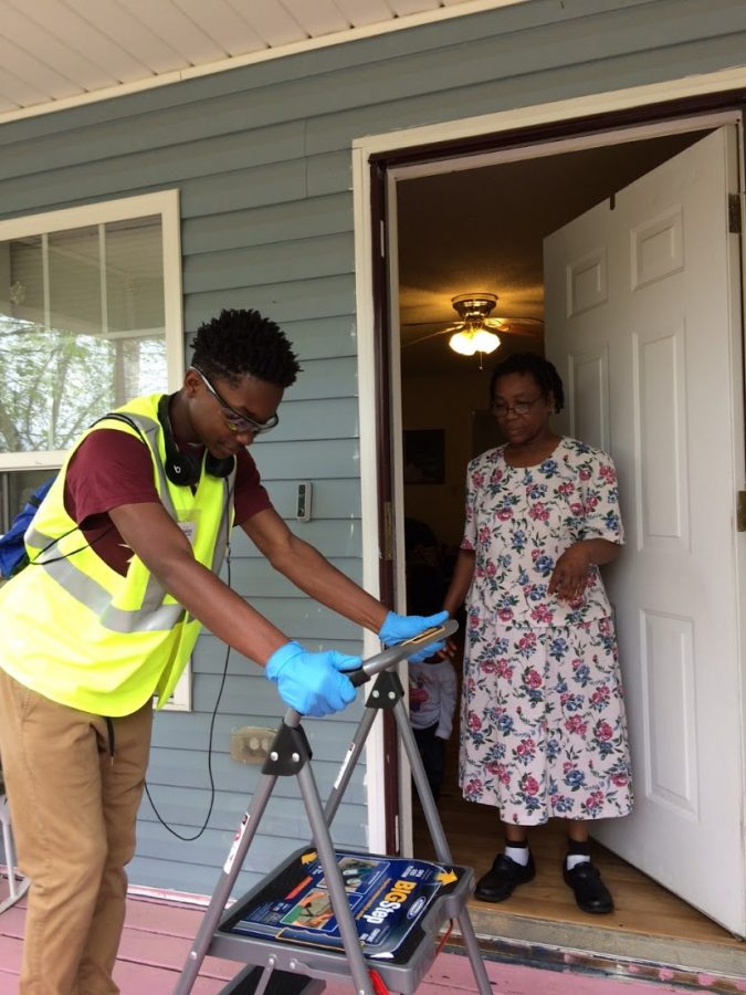 Lynmore Estates Ambassadors take care of odd jobs for older residents in a program originally created through Habitat for Humanity.