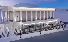New glass lobby, restroom wings planned for Macon City Auditorium renovation