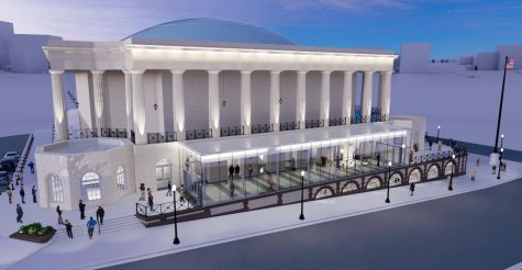 Macon-Bibb County commissioners got their first look Tuesday at preliminary plans for a $10 million upgrade of the nearly 100-year-old Macon City Auditorium.